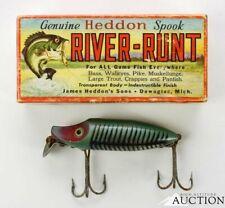 VINTAGE HEDDON RIVER RUNT SPOOK FLOATER 9400 FISHING LURE RARE
