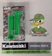 Manillares, agarres y manetas Kawasaki color principal verde para motos