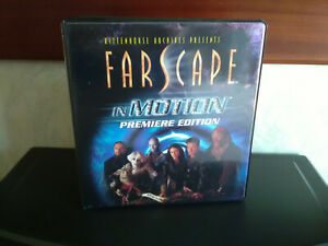 Farscape In Motion Trading Card Binder & x57 Hologram Cards