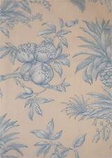 PIERRE FREY Boussac Dandy Floral Cotton Blue Yellow France New Remnant