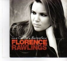 (DF582) Florence Rawlings, Love Can Be A Battlefield - 2009 DJ CD