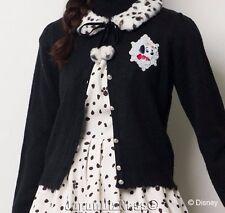 New Japan Secret Honey Disney Limited Edition 101 Dalmatians Dress Cardigan Set