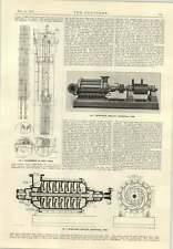 1915 West Gloucs Water Company Centrifugal Pumps Dunston Power Station