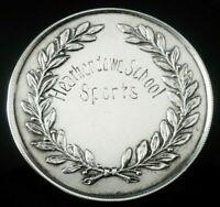 Cased Silver Heatherdown School Medal, Birmingham 1923
