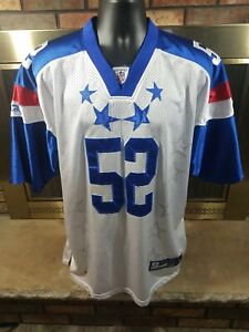 Clay Matthews #52 NFL Football Los LA Angeles Rams Pro Bowl Jersey Mens Size 54