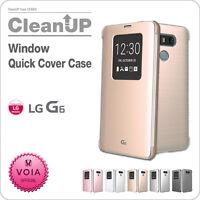 LG G6 VOIA Smart G6 Window Quick Cover flip Case for LG G6, G6 pro, G6+