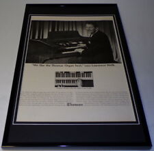 Lawrence Welk 1965 Thomas Organ Framed 11x17 Original Advertising Poster