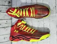 NEW Under Armour Micro G Pro Red Basketball Shoes 1251479-602 MENS SIZE 18