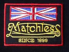 Matchless Motorrad seit 1899 Britische Flagge Biker Abzeichen Eisen Aufnäher