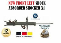 FOR NISSAN XTRAIL 2.0 dCi 2.5 4x4 2007-2013 FRONT LEFT SHOCK ABSORBER SHOCKER X1
