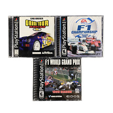 Playstation 1 F1 World Grand Prix 1991 Grand Tour Racing 98 F1 Championship 2000