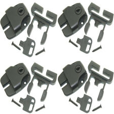 Pool Spa Cover Replacement Latches Buckles with Keys and Hardwares- Set of 4