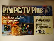 Pro PC/TV Plus AlTech Model 03-404 PC to TV conversion