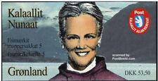 Greenland 1997 Queen Margrethe / Butterflies 53.50DKK Booklet complete UNM / MNH