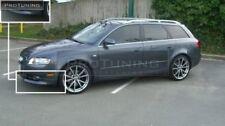 Front Bumper Spoiler Elerons Flaps For Audi A4 B7