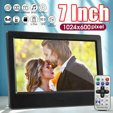 7 inch LCD Screen HD 720P Digital Photo Frame LED Electronic Album Movie Player