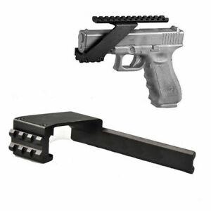 Universal 20mm Picatinny Rail Mount For Pistol Gun Laser Sight Torch adapter