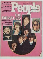 People Magazine April 5 1976 The Beatles Jon Voight Nicol Williamson Peter Tork