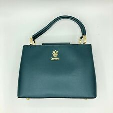 Italian Handmade Green Handbag Unique Whole High Quality Genuine Leather
