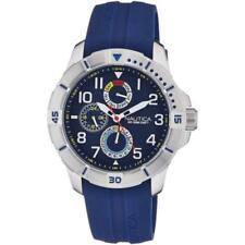 Nautica Armbanduhren mit Silikon -/Gummi-Armband für Herren