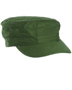 US Bdu Field Cap R/S Olive Size XXL Usmc Navy Marines Vietnam Nam Seals