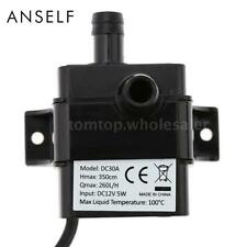 Ultra-quiet Mini DC12V Micro Brushless Water Oil Pump Submersible Fountain W1Z8