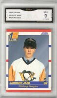 1990-91 Score #428 Jaromir Jagr RC | Graded MINT 9