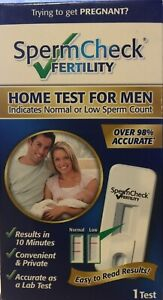 SpermCheck Fertility Home Sperm Test For Men - 1 test - Exp.09/2023