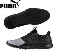 Puma Ignite PWRSport Pro Spikeless Golf Shoes Quiet Shade-Puma Black 191212 01