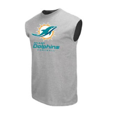 Miami Dolphins NFL Gray Men's Muscle Shirt, Size 2XL - New With Tags
