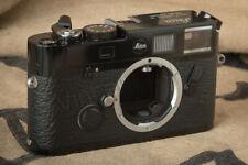 Leica M6 TTL LHSA very rare 0.58 viewfinder Black Paint / laqué noir viseur 0,58