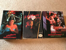 NECA Nightmare on Elm Street Action Figure BUNDLE!!! NEW AND MINT!!!!