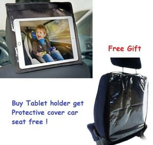 "Universal Car Backseat Headrest Mount Holder7""-10.1"" Tablet Holder and Free Gift"