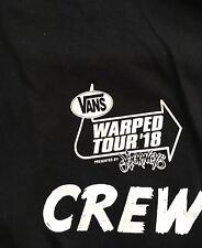 Warped Tour 2018 Crew T Shirt Large