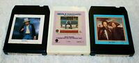 3 lot 8-Track tapes Merle Haggard ‎His Epic Hits, & The Strangers, Willie Nelson