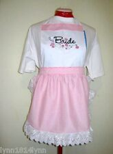 Customize Bride Aprons Names, Art, & Text Great Cute Designs‎ JUST MANY SO MORE