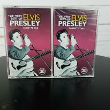 Elvis Presley The Best Of Cassette Tapes Vol 1, 2, NEW SEALED