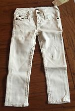 NWT $129 Girls True Religion Casey Super T Jeans Size 3T