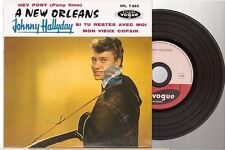 JOHNNY HALLYDAY CD EP REPLICA DELUXE EDITION a new orleans