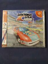 Daytona USA 2001 Japan Import Sega Dreamcast (See Pics)