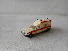 1:87 HERPA  HO MERCEDES BENZ  AMBULANCE  (6) GOOD CONDITION