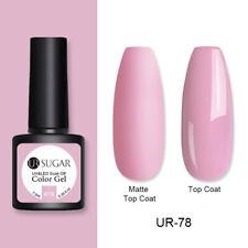 UR SUGAR 60 Colors UV Gel Nail Polish Red Green Pink Matte Varnish Top Base Gel