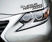 Performance Sticker Fits Lexus Logo Premium Qaulity Decals Graphics GP13