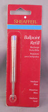 Sheaffer  K- ball pen refill  blue medium--fits many Sheaffer retired ball pens