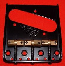 Guitar Parts WILKINSON Bridge - WTB Telecaster - Brass Saddle - BLACK