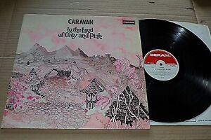 IN THE LAND OF GREY AND PINK  -  CARAVAN  -  UK DERAM LABEL  -  G/F   -  1971.
