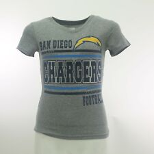 San Diego Chargers Girls Youth 100% Polyester Official NFL Athletic Shirt New