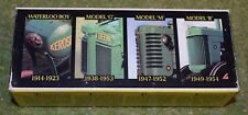 ERTL Plant 1:64th échelle 5523 John Deere 4 pc Jouet Jeu Waterloo Boy Model G M & R