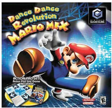 Dance Dance Revolution: Mario Mix Bundle (Nintendo GameCube, 2005)