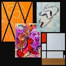 1957 Chagall Fautrier Delaunay Mondrian Capogrossi MAGNELLI XXe siecle 9